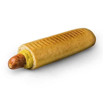 Hot dog maxi so štajerskou klobásou